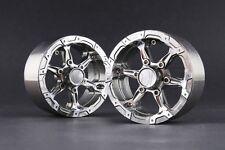 "Jazrider Aluminum 1.9""Beadlock 6-Spokes Wheels(D)GU For 1/10 RC Truck SCX10/CC01"
