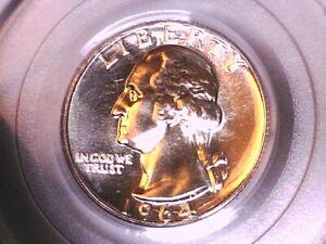1964 Proof Washington Quarter PCGS PR 69 71075217