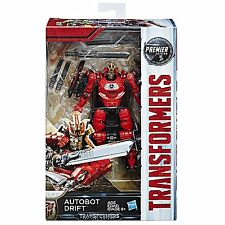 Transformers The Last Knight Movie Premier Deluxe AUTOBOT DRIFT NEW IN STOCK USA