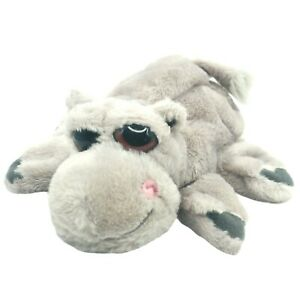 Caltoy Hippopotamus Puppet Plush Glove Hand Puppet Sleepy Big Eyed Hippo Animal