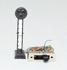 Railway Signal with Working lights -Target Signal from Model Power #1679