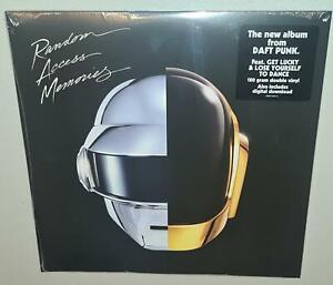 DAFT PUNK RANDOM ACCESS MEMORIES (2013) BRAND NEW SEALED 180g VINYL LP PRESSING