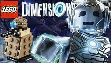 LEGO Dimensions 71238 Dr Who Fun Pack Cyberman & Dalek - AUS stock new (#1316)