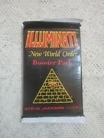 1994 1st Edition Illuminati Card Game INWO - 1 Booster Pack - NUKE  EPIDEMIC