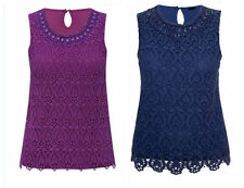 M&Co Scoop Neck Semi Fitted Tops & Shirts for Women