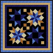 """DOOHICKEY - Black - 52"""" - Quilt-Addicts Pre-cut Patchwork Quilt Kit Lap"""