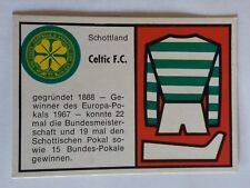 1970 German Bauer Weltfussball: Rare Celtic Card