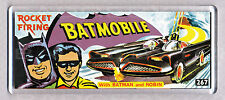 BATMAN BATMOBILE Toy Box ART Wide FRIGO CALAMITA-CLASSIC Toy RICORDI!