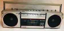 Vintage Panasonic RX-F5 Ambience Mini Ghetto Blaster Boombox Cassette AM/FM