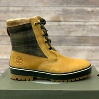 Timberland Men's Wheat Leather Waterproof Snow Boots