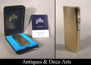 Parker of London Vintage 1979 Gold-plated Electric Lighter in Original Box
