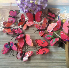 Lot Butterfly Hair Clips Bridal Hair Accessories Wedding Photography Costume
