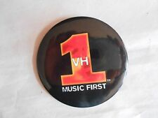 Vintage VH1 Video Hits One Television Network Music First Pinback Button