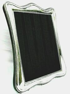XLarge Superb Finest 999 Quality Hallmarked Silver London &Britannia Photo Frame