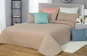 [50% off!!!]Emboss Bedspread//Coverlet/Throw-Single Double Queen King Size
