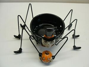 NEW 2009 YANKEE CANDLE BONEY BUNCH BIG DADDY LONG LEGS SPIDER CANDLE HOLDER
