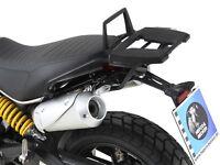 Ducati Scrambler 1100 (From 2018) Alurack Topcase Carrier - Black HEPCO & BECKER