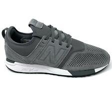 New Balance NB 247 Men Suede Fashion Shoes Sneakers Revlite Gray Sz.10 MRL247LY