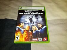Fantastic 4 Four: Rise of the Silver Surfer (Microsoft Xbox 360, 2007)