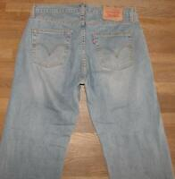 """>>> Levi `S 751 D' Homme Jeans / Blue-Jeans En Lumière Bleu W33 """" / L30 """""""