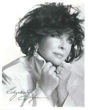 Elizabeth Taylor preprinted signed photo