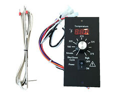 Digital Thermostat Pellet Grill Control Board with RTD Probe For Traeger BAC236