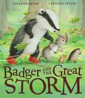 Badger and the Great Storm by Chiew, Suzanne Book The Cheap Fast Free Post