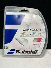 Babolat Rpm Team Tennis String 17g - Pink Color