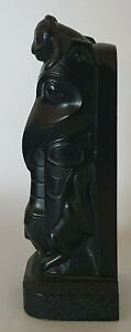 Vintage Boma Canada Totem Carving