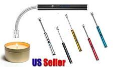 USB Rechargeable Electric Windproof Lighter Candle Lighters BBQ Arc Long Neck