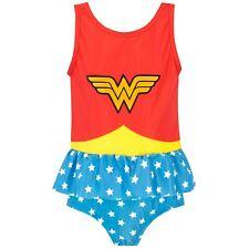 Wonder Woman Swimming Costume | Girls DC Comics Swimsuit