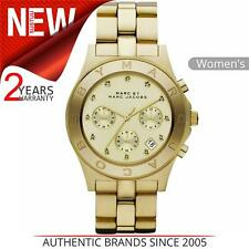 Marc Jacobs Blade Ladies Watch MBM3101│Chronograph Dial│Stainless Steel Strap