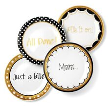 Set Of 4 Appetizers Plates