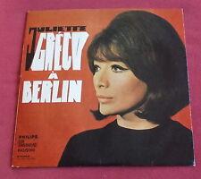 "JULIETTE GRECO 25 CM 10""  LP ORIG  ALLEMAND  A BERLIN TTBE"
