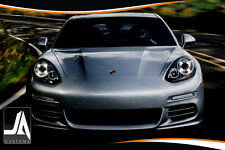Led Facelift Style Upgrade For Porsche Panamera Headlights Halo Rings