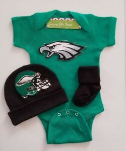 Eagles newborn/baby clothes Eagles newborn outfit Philly Eagles baby gift