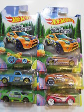 HOT WHEELS HAPPY EASTER 2015 TARMAC TOYOTA GNAT DEORACHEVY AMAZOOM COMPLETE SET