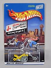 Hot Wheels BLAST LANE Motorcycle JIFFY LUBE 2000 Promotional Special Edition