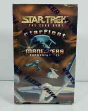 Star Trek The Card Game Starfleet Maneuvers Expansion Set Factory Sealed Box