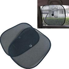 1 Pair Foldable Car Side Window Screen Mesh Sun Shade Block XICA
