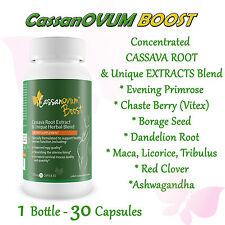 Cassava Fertility Supplement - Increase Fertility,CASSANOVUM BOOST 1 Month