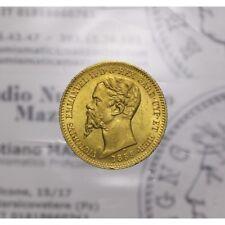 20 Lire 1859 P Genova (Sardegna - Vittorio Emanuele II) qFDC/FDC LOT1402