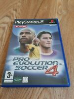 Playstation Games PS2 Pro Evolution Soccer 4 Old School Football Complete Manual