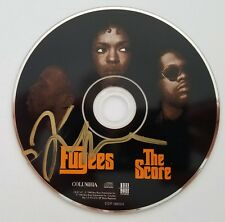 Lauryn Hill Signed The Fugees The Score CD Miseducation Legend RAD