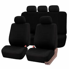 Car Seat Covers for Auto Honda Black Airbag & Split bench compatible