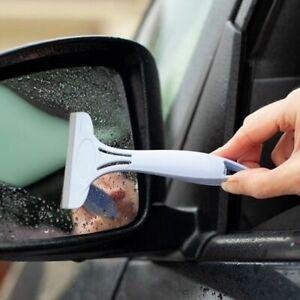 SMALL MINI HOME CAR GLASS LIGHTS WINDOW MIRROR WIPER SILICONE SQUEEGEE