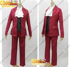 Miles Edgeworth from Ace Attorney Cosplay Costume any sizes
