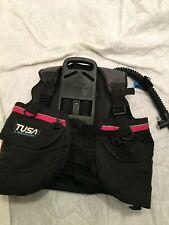 Tusa Liberator SCUBA Diving BCD Buoyancy Vest Jacket Compensator Size US Large