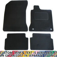 For Renault Laguna MK3 2008-2015 Fully Tailored 4 Piece Car Mat Set with 2 Clips