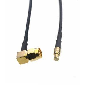 "RF Cable MCX plug to SMA Male RA RG174 pigtail 6""~10FT DVB TV radio GPS antenna"